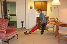Does your senior need help with light housekeeping around the home?