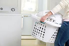 Yes we will help with laundry in your home.
